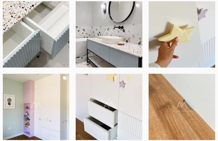 Примеры контента для мебельного магазина