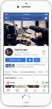 Обновления Фейсбук для бизнеса